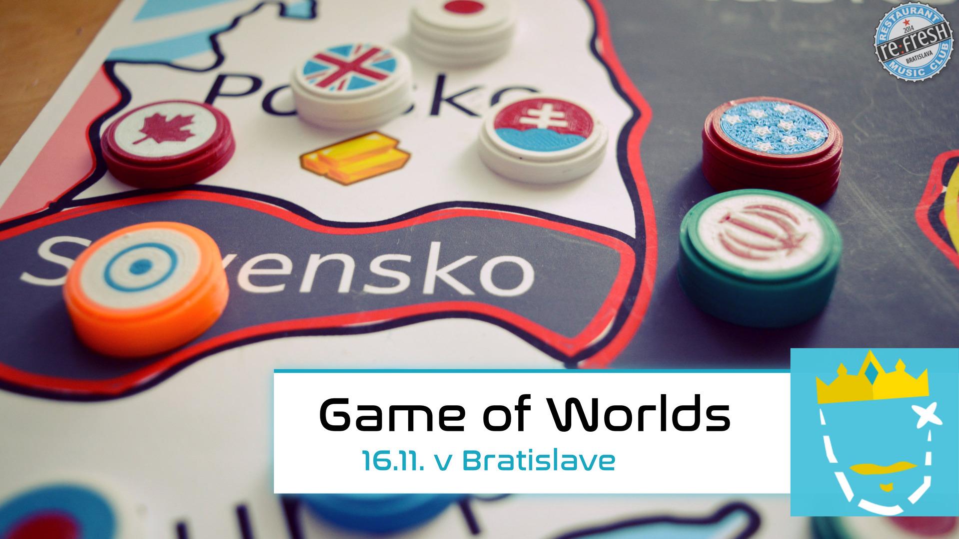 Game of Worlds Bratislava 16.11.