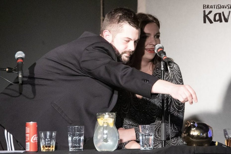 Joe Trendy a Simona v show Bratislavský kaviár